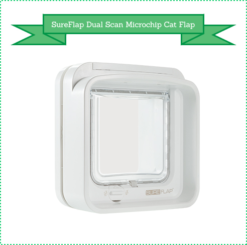 SureFlap Dual Scan Microchip Cat Flap