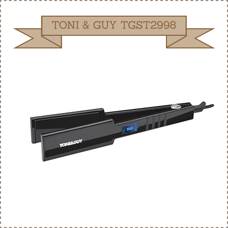 TONI & GUY TGST2998 Wide Plate Salon Professional Hair Straightener