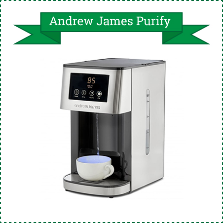 Andrew James Purify Hot Water Dispenser and Water Filter