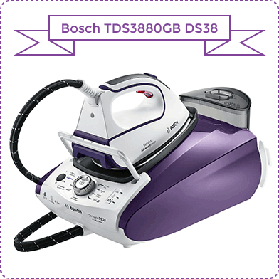 Bosch TDS3880GB DS38 Sensixx ProHygienic Steam Generator