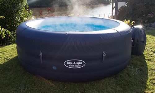 Lay-Z-Spa Saint Tropez Airjet Inflatable Hot Tub