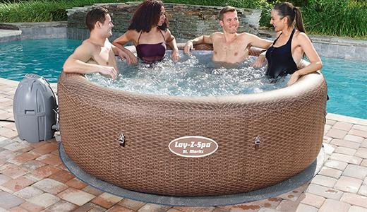 Lay-Z-Spa St Moritz Hot Tub