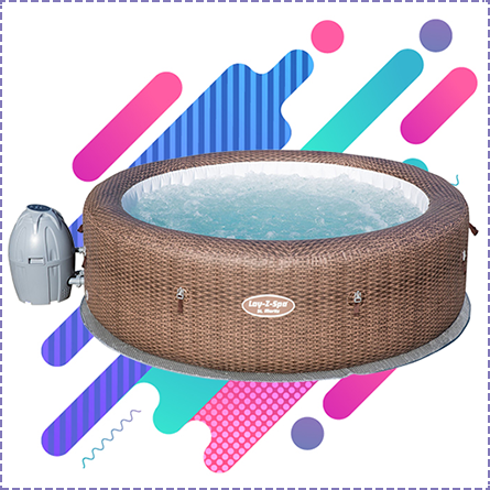 Lay-Z-Spa St. Moritz Inflatable Hot Tub