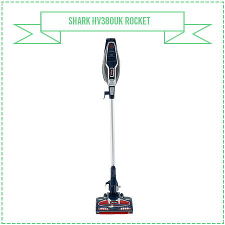 Shark HV380UK Rocket Stick Vacuum Cleaner with Duo Clean