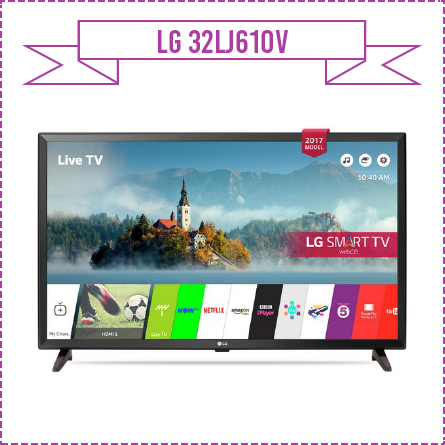 LG 32LJ610V 32 Inch Smart Full HD TV