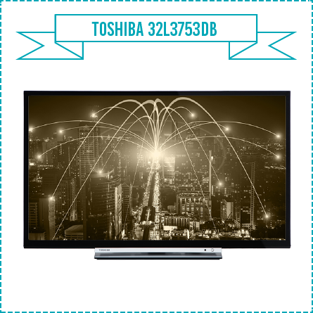 Toshiba 32L3753DB 32-Inch Smart Full HD LED TV