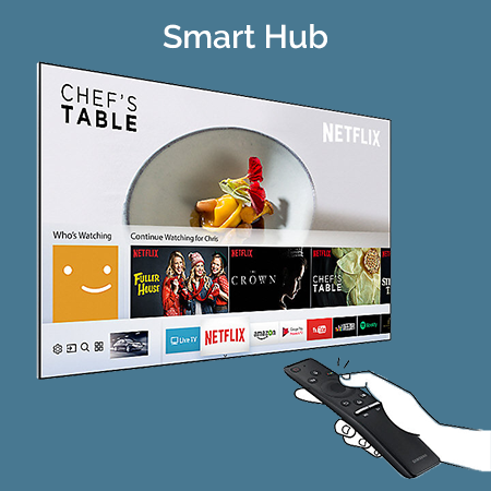 Samsung M5500 Smart Hub
