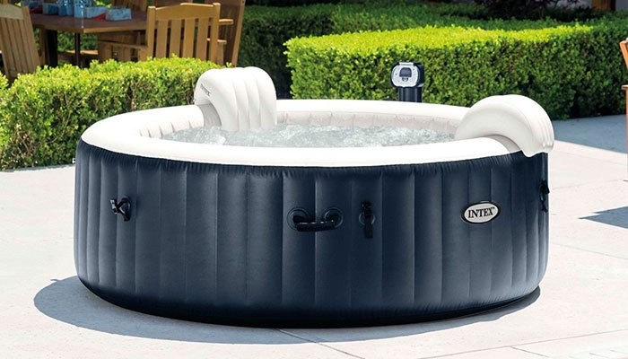 inflatable octagonal tub intex product reviewed spa bubble reviews hot