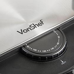 VonShef Air Fryer temperature control