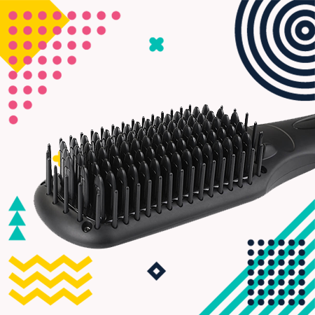 BearMoo Ionic Heated Straightener Brush