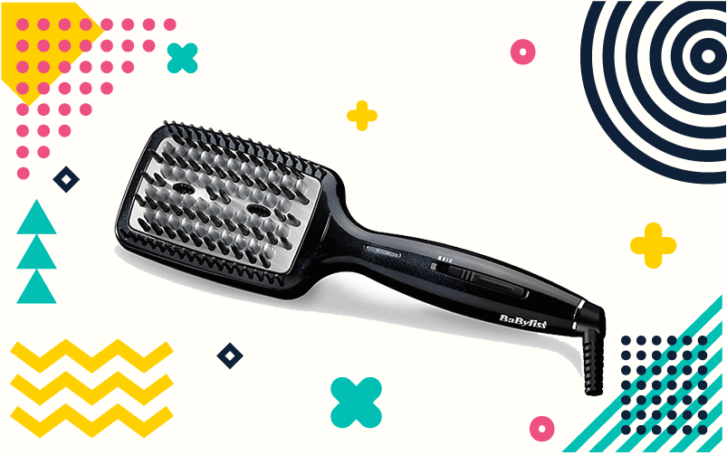 BaByliss Hair Straightening Brush Review