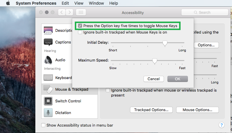 how to disable macbook keyboard