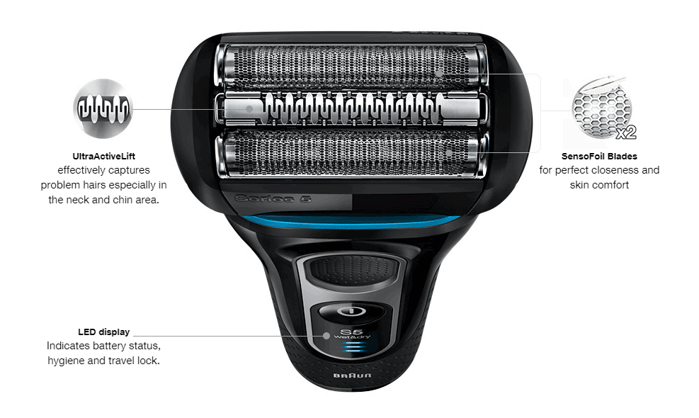 Braun Series 5 5140s Men's Electric Foil Shaver