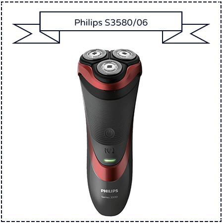 Philips Series 3000 S3580/06 Wet and Dry Men's Electric Shaver