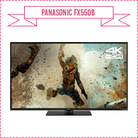 Panasonic FX550B Smart 4K UHD TV